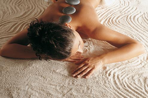 Chakra hotstone massage